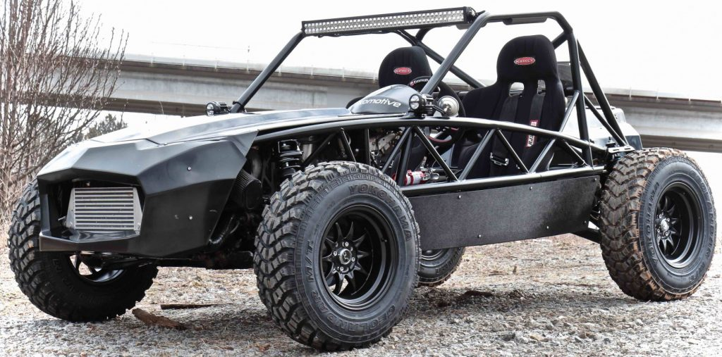 Exocet Off-Road – dirt thrills with the humble MX-5 as base